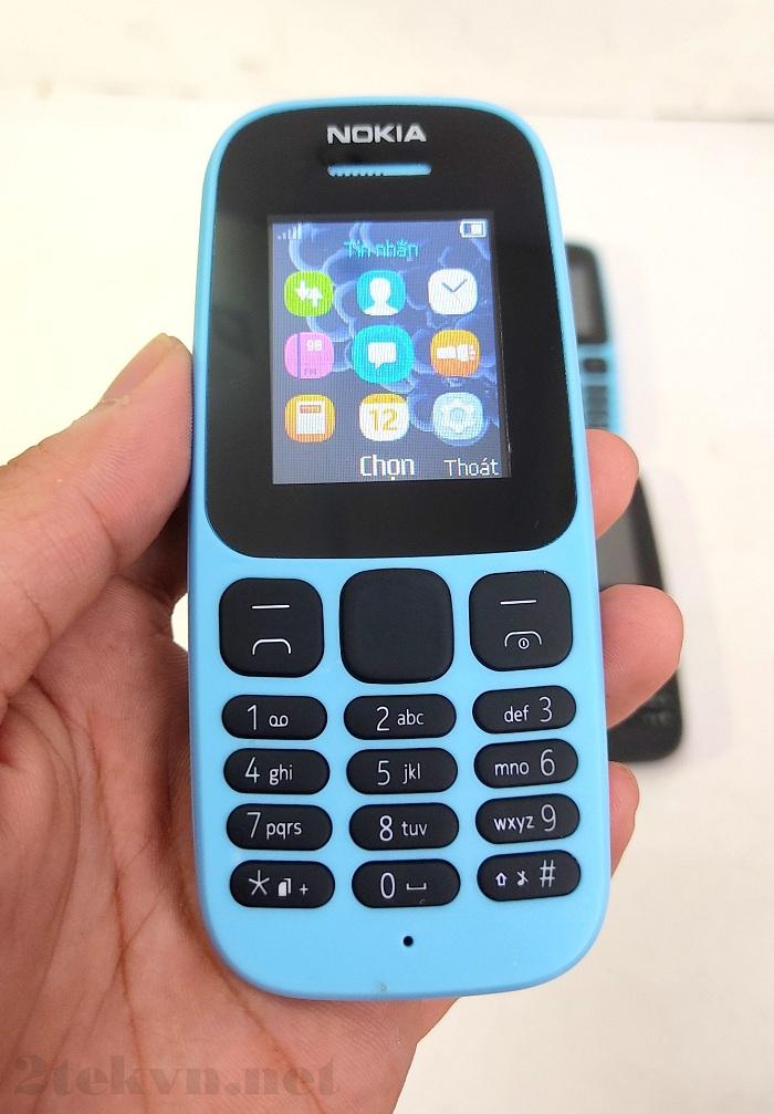 Nokia 105 (2017) có thiết kế mới mẻ