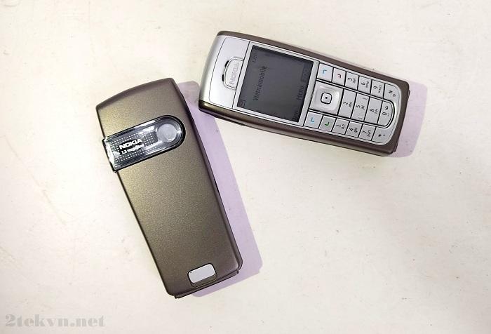 Nokia 6230i có thiết kế cổ điển đầy cuốn hút