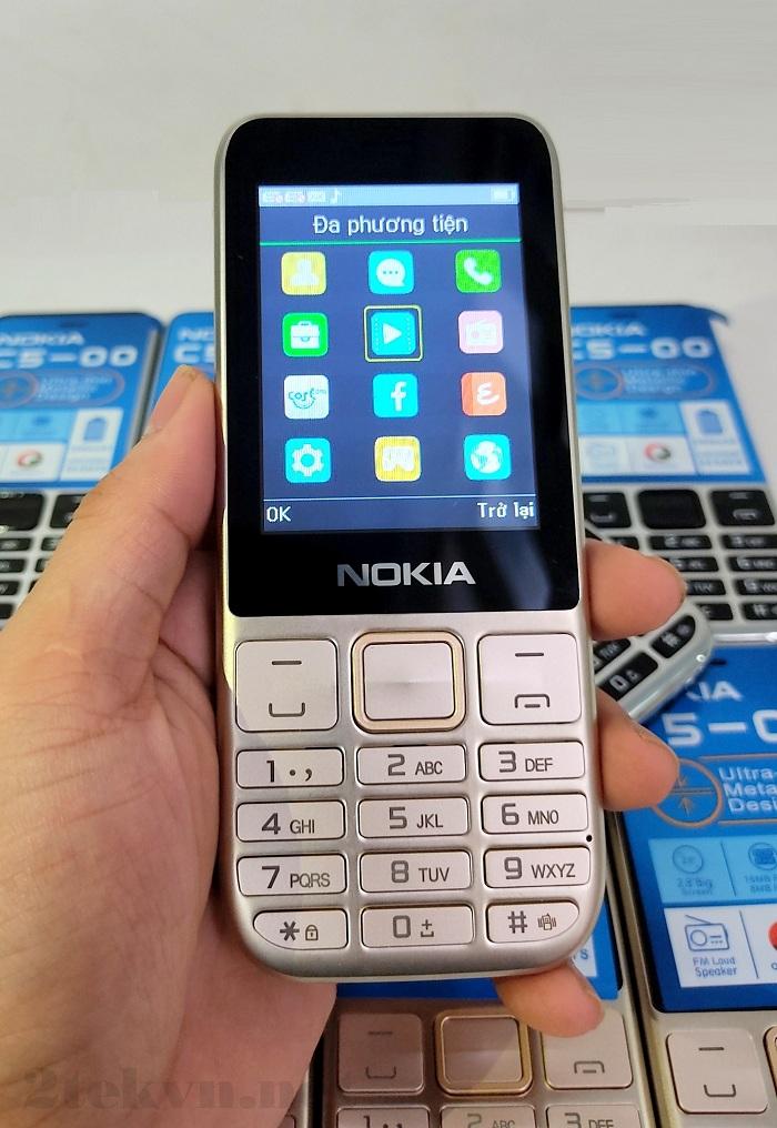 Nokia C5-00 (2020) được thiết kế nhiều tính năng hấp dẫn