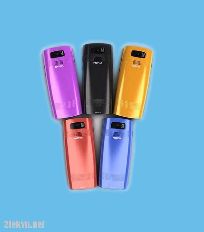 Nokia X2-02 được thiết kế nhiều màu sắc cho bạn lựa chọn