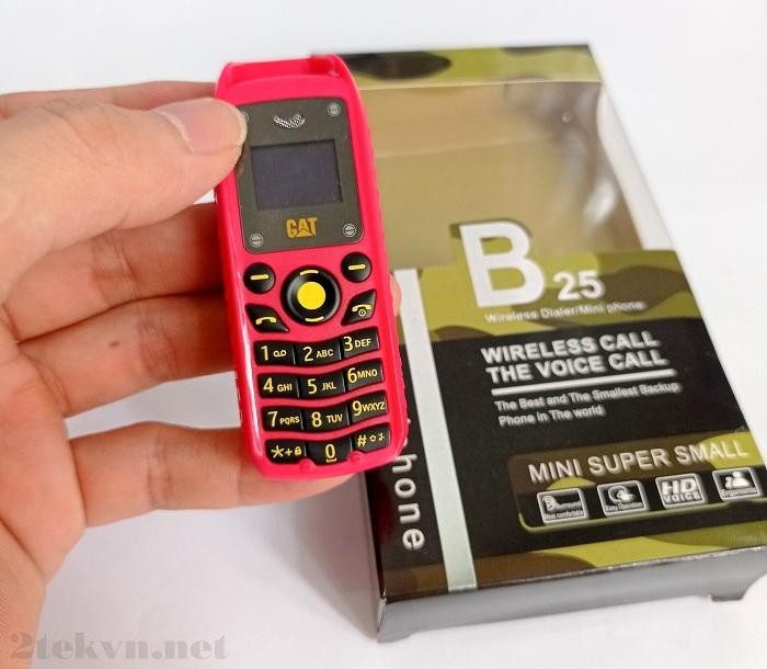 Điện thoại Mini B25 có kích thước siêu nhỏ