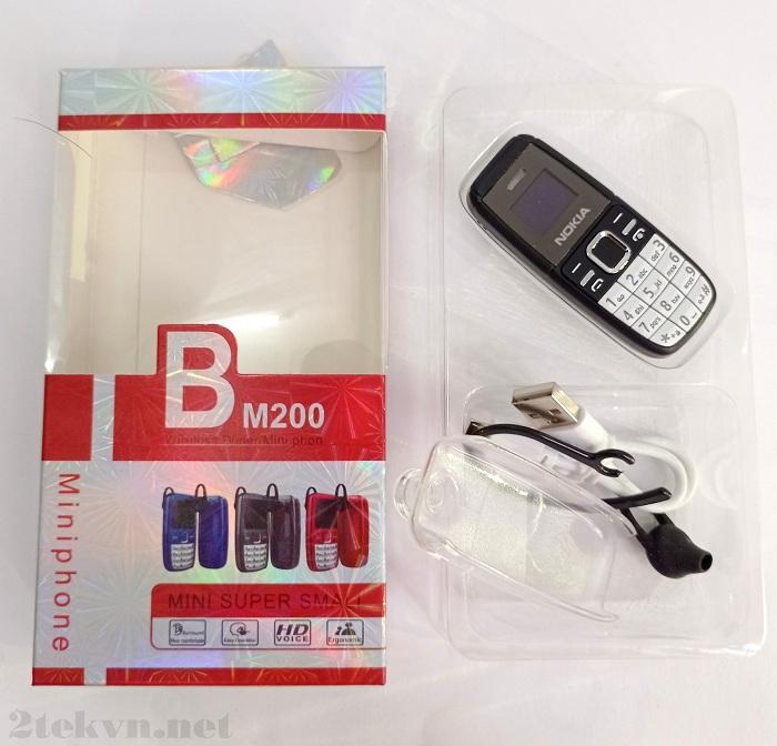 Full box chiếc Nokia BM200