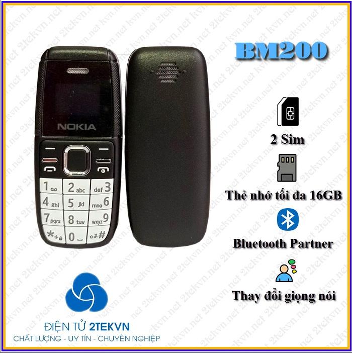 Nokia BM200 được tích hợp nhiều tính năng hấp dẫn