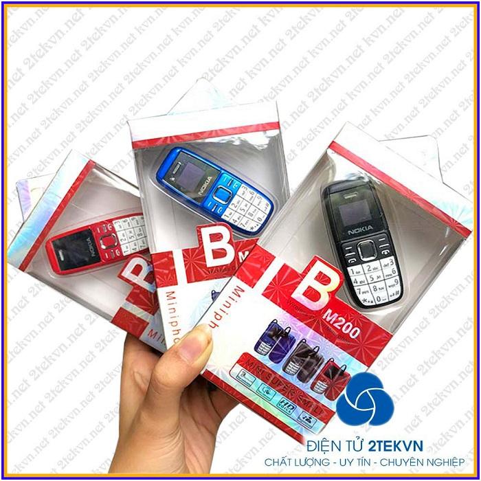 điện thoại nokia bm200 có 3 màu xanh đỏ đen
