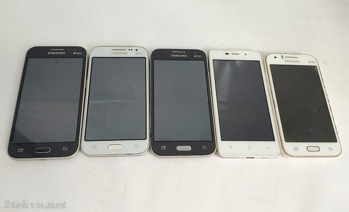 Một số mẫu điện thoại cảm ứng cũ