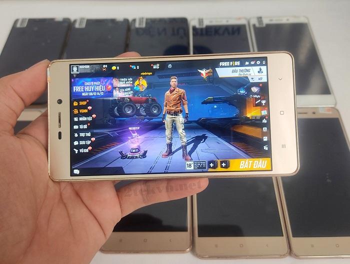 Xiaomi Redmi 3S Cấu hình mượt mà, đồ họa sắc nét