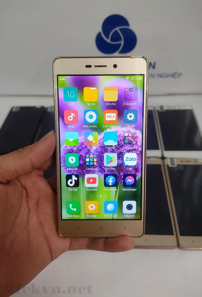 Xiaomi Redmi 3S đáp ứng đầy đủ chức năng