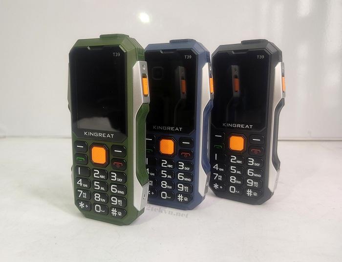 Điện thoại Kingreat T39 có 3 màu