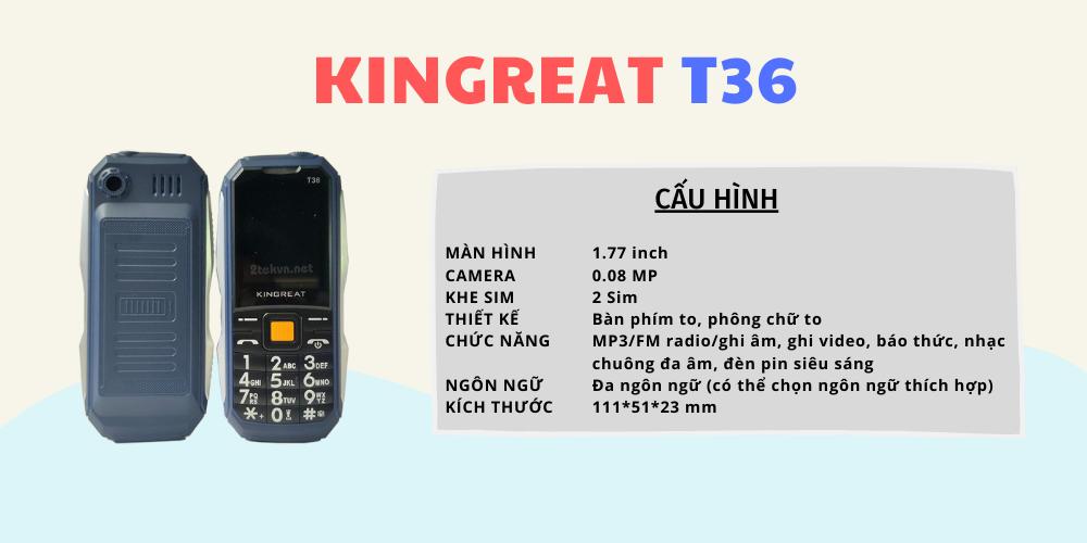Cấu hình Kingreat T36
