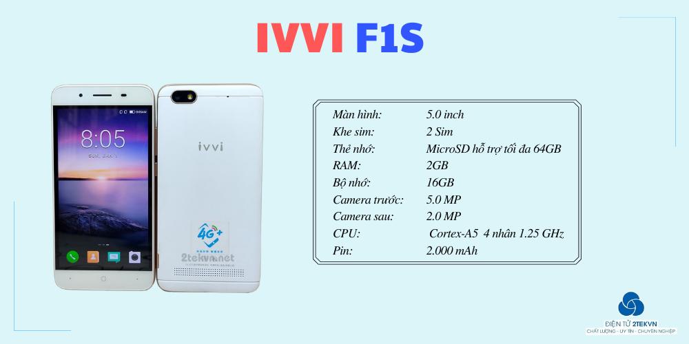 Thống số cấu hình cơ bản của IVVI F1S