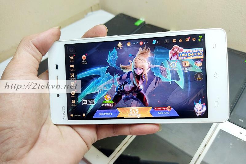 Trải nghiệm game Liên quân mobile trên Vivo Y51