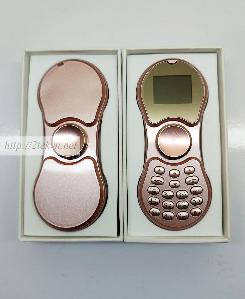 Điện thoại con quay Spinner A1 màu hồng dễ thương
