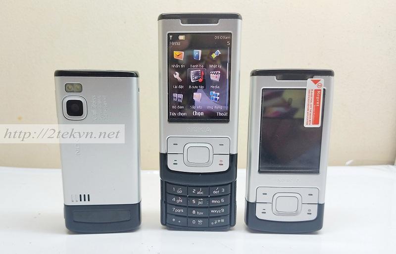 Nokia 6500S có thiết kế nắp trượt sang trọng
