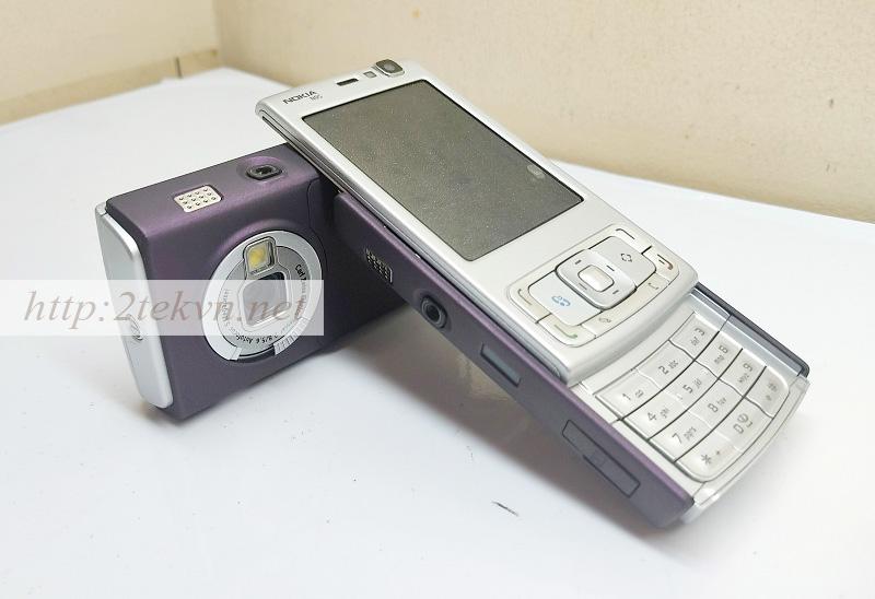 Nokia N95 sở hữu thiết kệ độc đáo