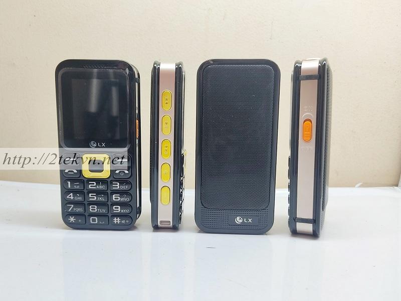 Thiết kế tổng quan của điện thoại LX W229