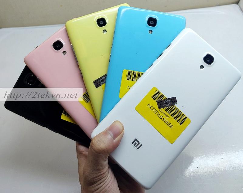 Xiaomi Redmi Note 1S sở hữu nhiều màu sắc tươi trẻ cho bạn thoải mái lựa chọn.